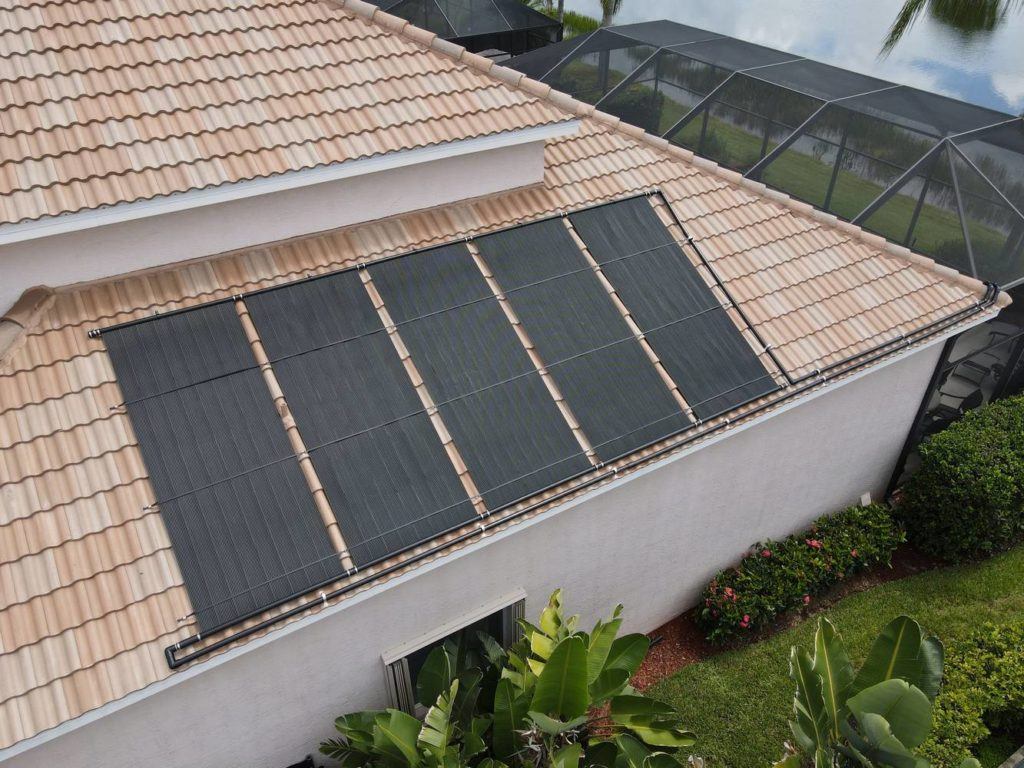 Colonial Country Club Install - solar panels