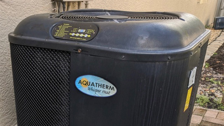 Aquatherm Whisper Heat pool heat pump