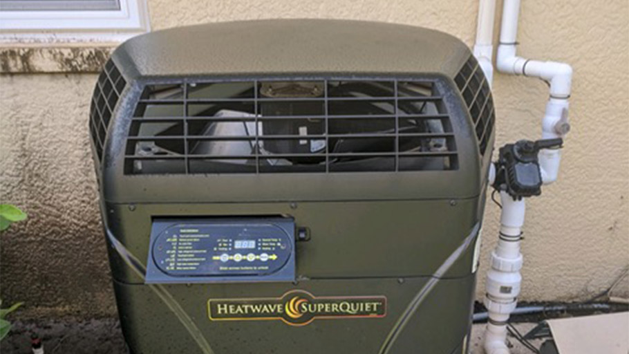 Heatwave SuperQuiet pool heat pump