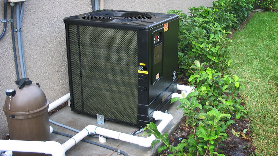 Hybrid Pool Heating System