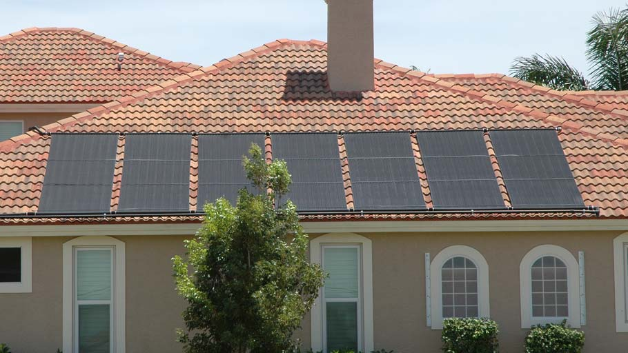 Naples House with Solar Pool Heating