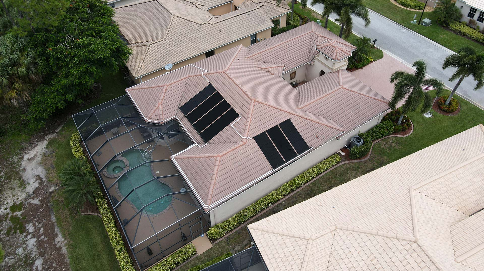 Cape Coral Solar Pool Install